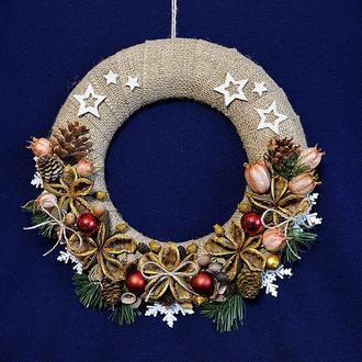 """Вінок """"Різдвяна зірка"""""""