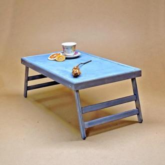 Столик-поднос для завтрака Техас Делюкс аметист