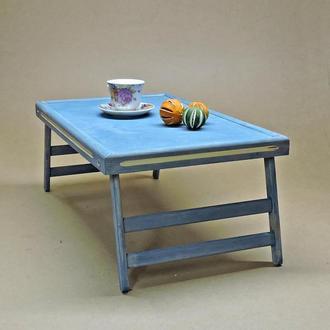 Столик-поднос для завтрака Техас Делюкс индиго