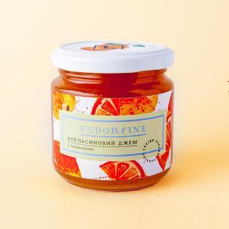 Апельсиновий джем з лавандою 234г Endorfine
