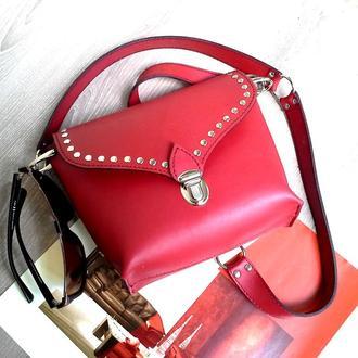 Красная сумка кроссбоди