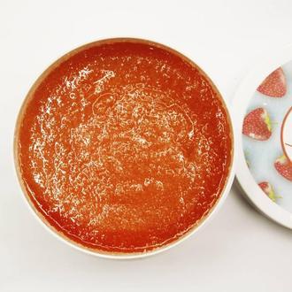 Сахарный скраб для тела с маслами Envie Cosmetic ( «La Palm» клубника ) ( 500гр.)