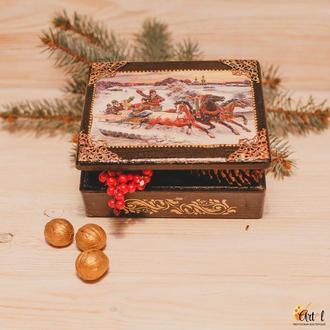 Шкатулка для украшений Праздник