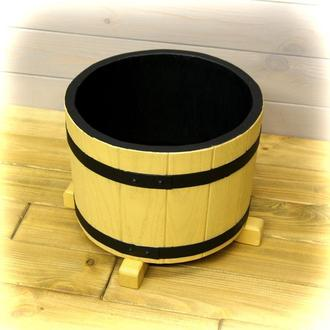 Деревянная кадка для цветов 5 литров Seven Seasons™ Old Barrel Орегон