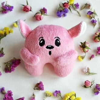 Игрушка  (розовый)