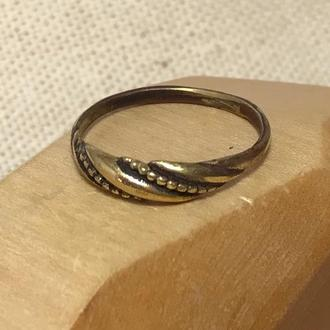 Кольцо бронза