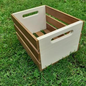 Ящик из дерева, деревянный ящик