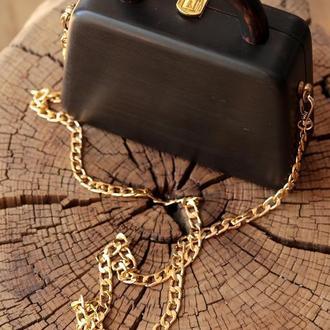 Wood bag ′Black′