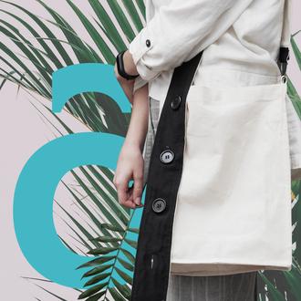 Дизайнерская эко сумка