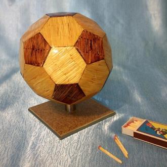 Мяч из спичек