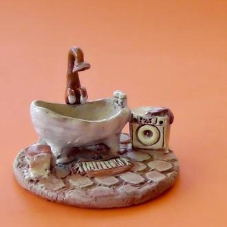 Миниатюра Ванная комната Керамика