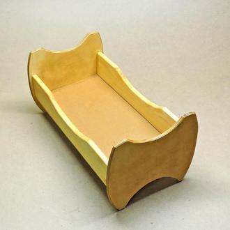 Кровать для кукол Жасмин карри