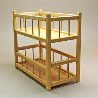 Кровать для кукол Золушка карри