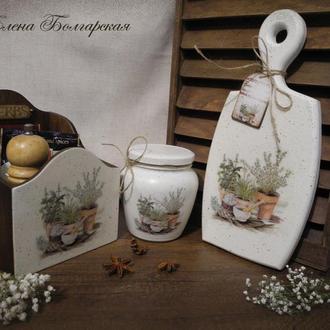 """Набор для кухни """"Прованские травы"""
