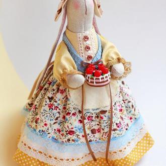 Зайка-хозяйка с тортиком