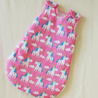 Спальный мешочек для малыша Unicorns