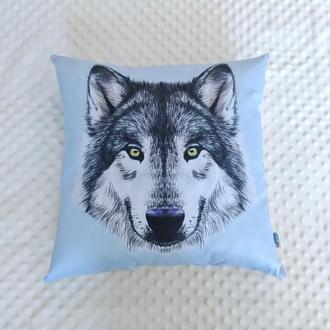 Подушка Волк, 40см