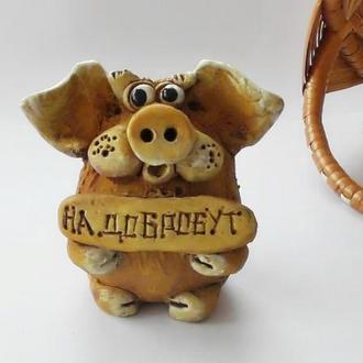 Фигурка свиньи Свинка на Добробут