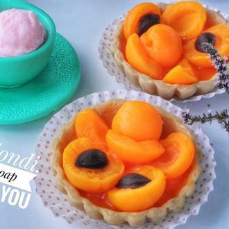 Тарталетка с абрикосами.