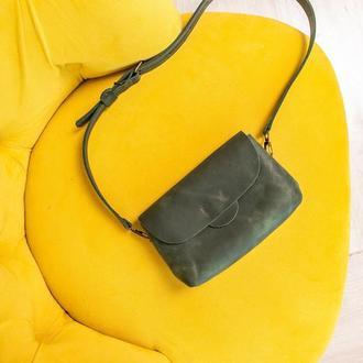 поясная сумка BUBA кожаная сумка на пояс, бананка