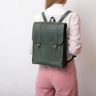Рюкзак шкіряний, унісекс, городской рюкзак, женский рюкзак, кожаный рюкзак