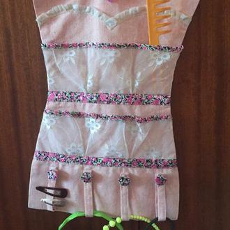 органайзер текстильный для девочки