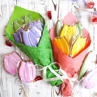 Пряничный букет Тюльпаны