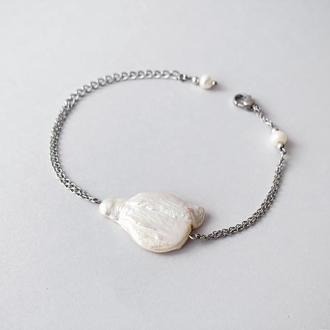Браслет из барочного жемчуга  (модель №538) JK jewelry