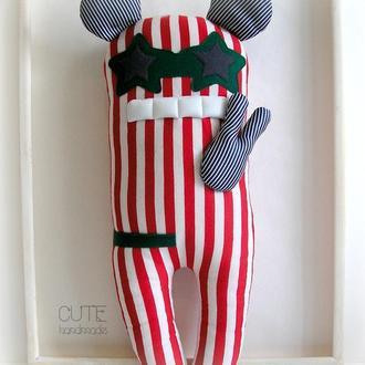 Вик Пришелец Мягкая игрушка подушка Интерьерная игрушка Инопланетянин