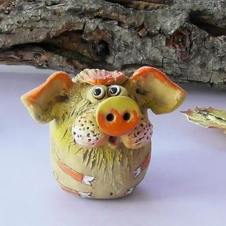 Фигурка свинья Свинка декор подарок для дома