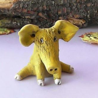 Статуэтка в виде свинки оригинальный подарок