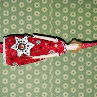 Кукла тильда Звезда Рождества, Рождественская Пикси, Эльф