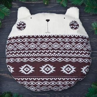 Декоративная подушка медведь, Декор в детскую