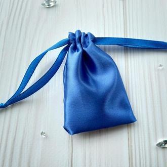 Атласный подарочный мешочек для упаковки 6 х 9 см. (тканевая упаковка, атласные мешочки)