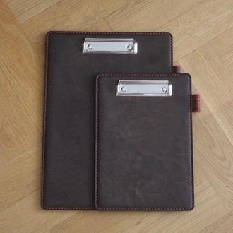 Кожаная папка для документов а4, шкіряна папка планшет А4