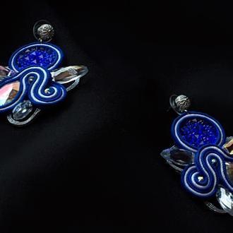 Серьги Thorn (blue)