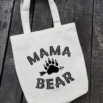 "Эко сумка ""Мама медведица"""