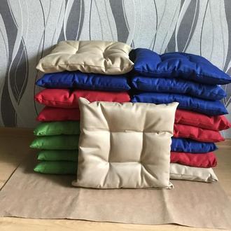 Пошив мягких подушек на стул