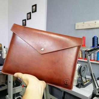 Чехол кожаный на Macbook