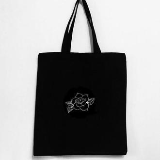 """Эко - сумка шоппер """"Розочка"""""""