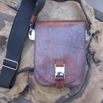 сумка-барсетка мужская,ПОДАРОК,кожаная сумка мужская,сумка из кожи