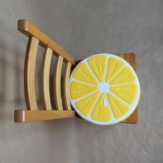 Сиденье на стул ломтик лимона