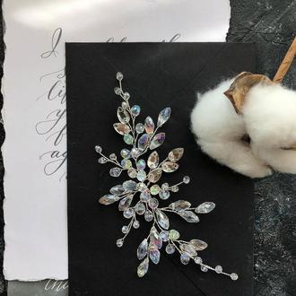 свадебная веточка веточка для волос веточка в прическу