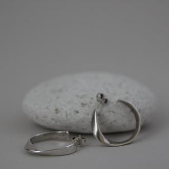 Сережки Стрічка Мьобіуса