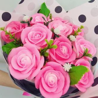 """Мило """"Букет троянд"""" 11шт"""