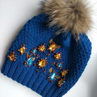 Зимняя шапочка Яремча