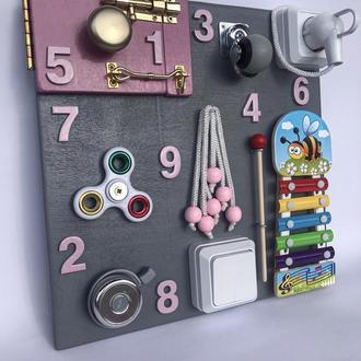 Бизиборд для девочки /мальчика busybord