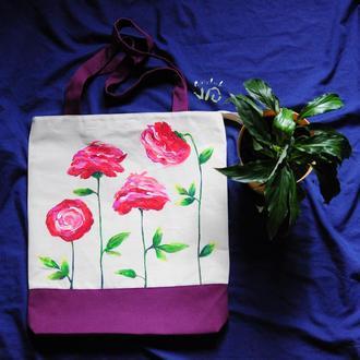 Торбинка з трояндами