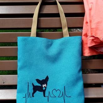 Эко-сумка для покупок, органайзер для пряжи, тканевая повседневная сумка