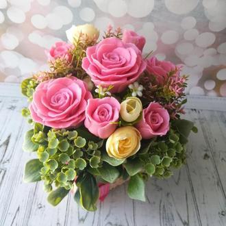 """Букет мыльных роз """"Светлана"""""""